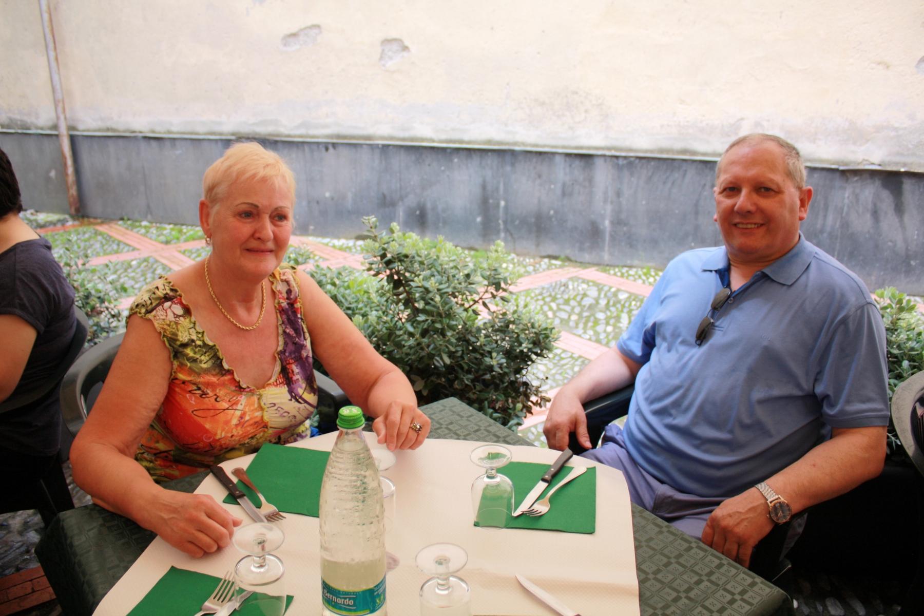 Véra et Willy en Italie